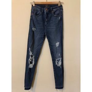 Abercrombie & Fitch Skinny Ripped Jeans